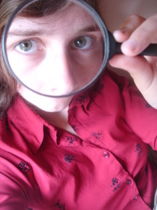 Magnifying Glass with Kid