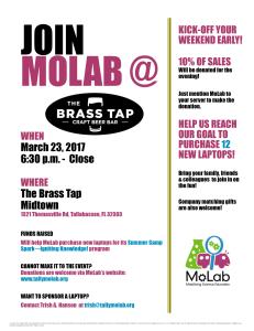 Brass Tap Fundraiser